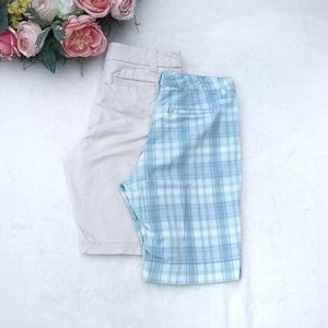 Bundle of Size 12 shorts Gloria Vanderbilt Sonoma